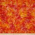 Wilmington Batiks Butterflies Orange/Gold
