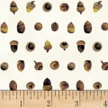 Hoffman Can't Stop Falling Acorns Metallic Natural/Gold