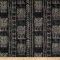 Genevieve Gorder Mali Mud Cloth Linen Inked