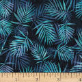 Hoffman Bali Batik Palm Leaves Paradise