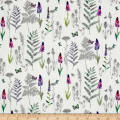 Stof France French Fantaisy Herbier Multi