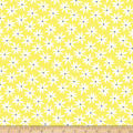Kanvas Lemon Twist Daisy Dot Lemon/White