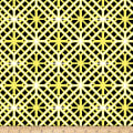 Kanvas Lemon Twist Geo Trellis Yellow/Black
