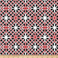 Kanvas Cherry Twist Geo Trellis Black/Cherry