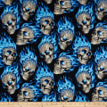 Alexander Henry Nicole's Prints Hotheads Black/Blue