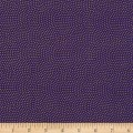 Timeless Treasures Metallic Spin Dot Purple