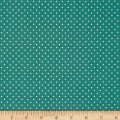 Stof France Le Quilt Belle Epoque Polka Dots Turquoise