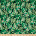 Stof France Le Quilt Equateur Green/Multi