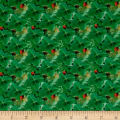 STOF France Le Quilt Petits Lapins Four Leaf Clovers Green