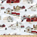 Headin' Home Barns Allover Snow