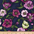 Lenten Rose Navy Blue