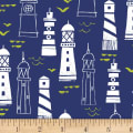 Nautical Fish Lighthouses Light Navy