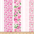 Chelsea Stripe Floral Light Pink