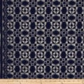 Telio Marakesh Corded Lace Navy