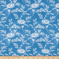 Temperance Blues Main Floral Blue