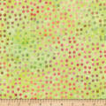 Bali Dots Great Batiks Lemongrass