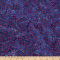 Bali Dots Great Batiks Blueberry