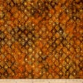 Medallion Batik Rust