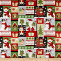Winter Greetings Patch Multi
