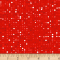 Stof Fabrics Denmark Colour Fun Dots Red