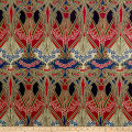 Liberty Fabrics Interiors Ianthe Linen Imperial Blue