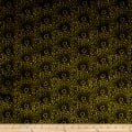 Liberty Fabrics Interiors Capello Shell Velvet Evergreen