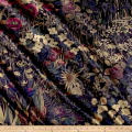 Liberty Fabrics Interiors Velvet Faria Blackberry