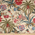 Waverly Exotic Curiosity Jewel Linen
