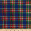 Classic Yarn-dyed Tartan Plaid Royal/Red/Yellow