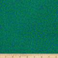 QT Fabrics Along The Countryside Tiny Leaves Teal