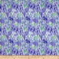 Belle Watercolor Chevron Purple/Periwinkle
