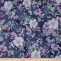 QT Fabrics Jacqueline Floral Grape