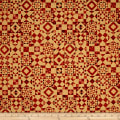 QT Fabrics Seamless Quilt Blocks Orange