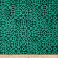 QT Fabrics Seamless Quilt Blocks Dark Teal