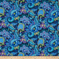 Ink & Arrow June Bee Thalia Paisley Navy