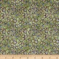QT Fabrics  Garden Grandeur Scroll Lt. Green