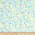 QT Fabrics  Little Squirt Bubbles White