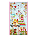"QT Fabrics  The Quilted Cottage The Quilted Cottage 24"" Panel Multi"