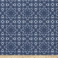 Premier Prints Miguel Slub Canvas Space Blue