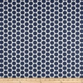 Premier Prints Paco Slub Canvas Space Blue