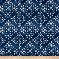 Premier Prints Avilia Slub Canvas Prussian Blue