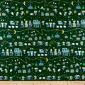 QT Fabrics Holiday Minis Nativity Forest