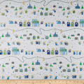 QT Fabrics Holiday Minis Nativity White