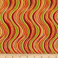 Ink & Arrow Olivia Wavy Stripe Orange