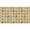 "A Stitch In Time 24"" Panel Quilt Blocks Cream"
