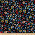 Paisley Wonder Small Paisley Floral Black/Multi