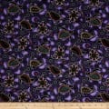 Down Under Aboriginal Tossed Sea Turtles Purple