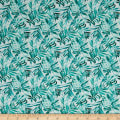 Isle Tropical Ferns White/Aqua