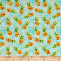 Isle Tossed Pineapples Aqua/Multi