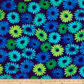 Kanvas Sunburst Daisy Burst Navy